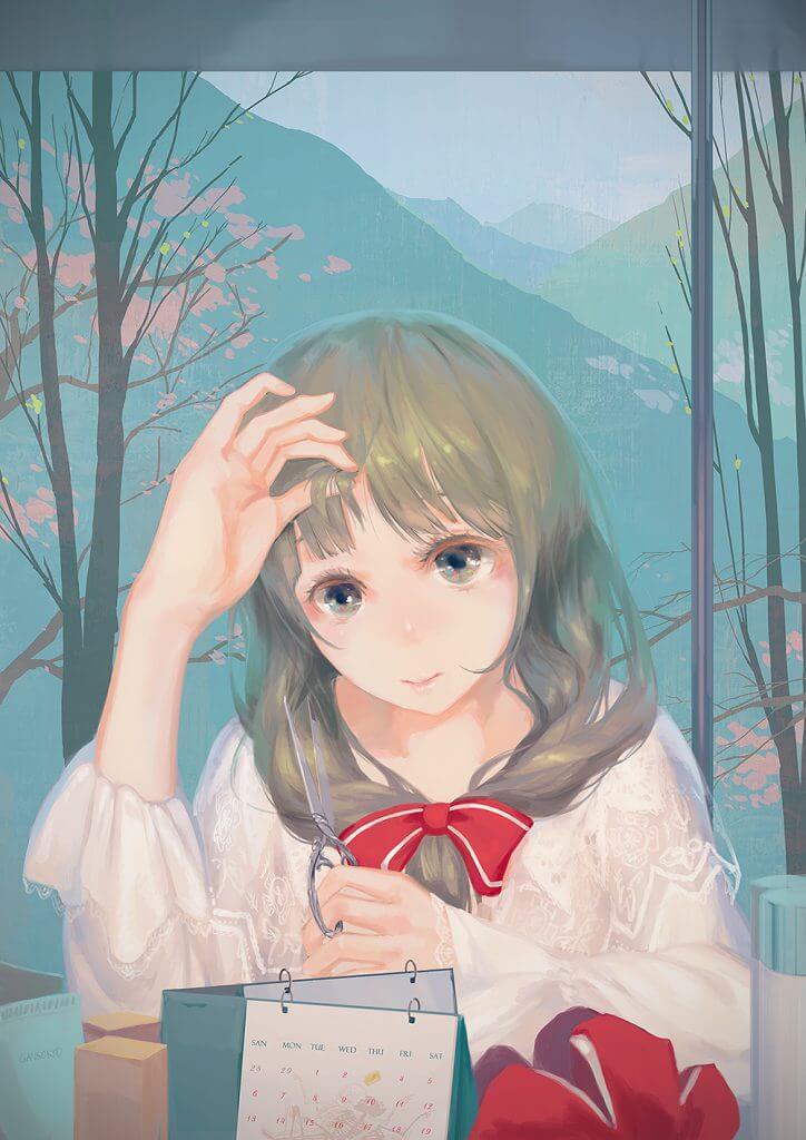 紫雨幽蝶_低调且治愈的气息-JQ3C273画师 – 二色幽紫蝶